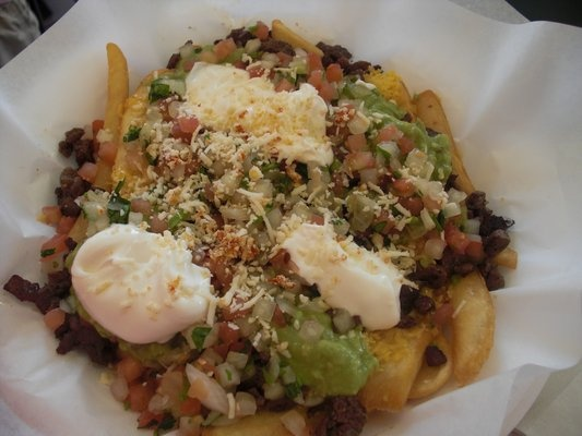 You won't find better carne asada fries anywhere in the world - Benito's, Los Angeles