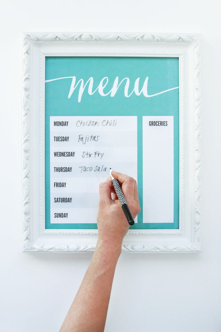 best images about meal planners weekly meal daily conundrum supermom secret organization kitchens printable dry kitchen foods kitchen ideas erase menu paging supermom kitchen printables