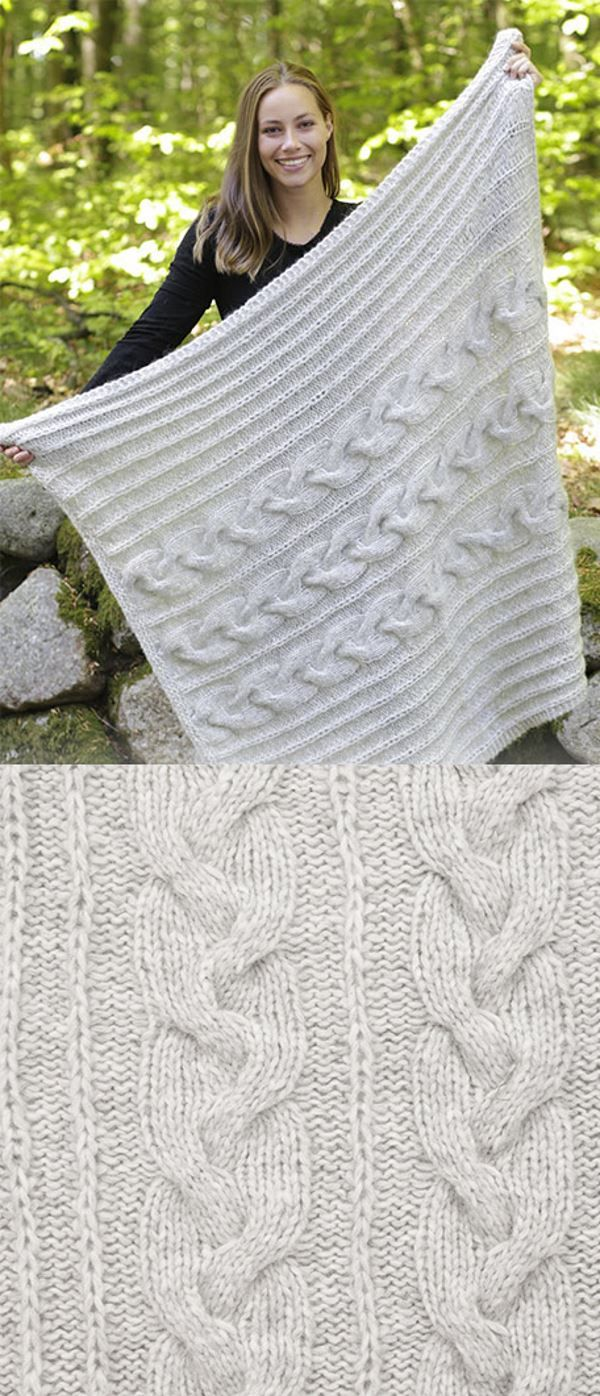 10 Free Chunky Cable Knit Blanket Pattern Free Knitting Patterns