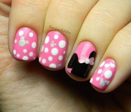 valentine candy nails