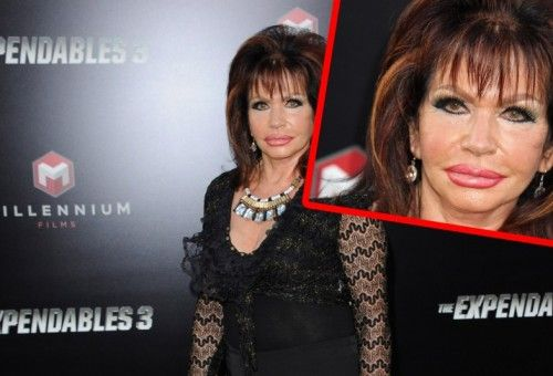 92 and all plastic: Jackie Stallone