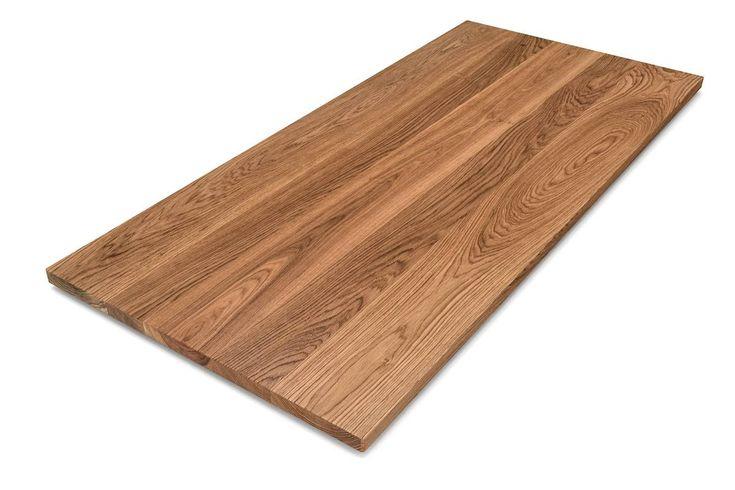 eiche tischplatte nach ma in weitgehend astfreier qualit t massive echtholz tischplatten. Black Bedroom Furniture Sets. Home Design Ideas