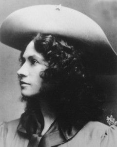 Annie Oakley . . . the one and only.