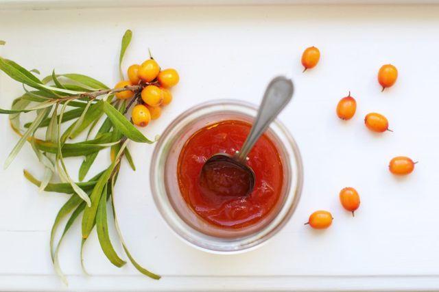 Havtornsmarmelad med saffran recept
