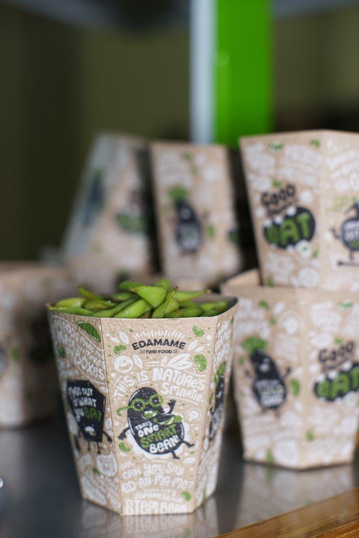 Edamame - One Smart Bean — The Dieline - Branding & Packaging
