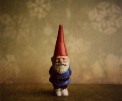 the garden gnome from Amelie