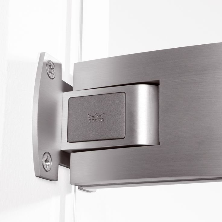Self Closing Double Acting Hinge Tempered Glass Doors Are