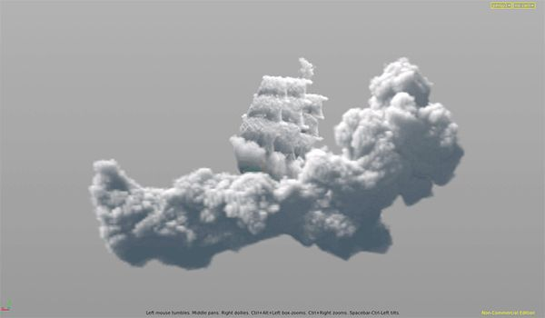 sidefx, vfx, houdini, volumetric clouds, maya, arnold, solid angle, gamedev, game development, special effects, game industry, clouds