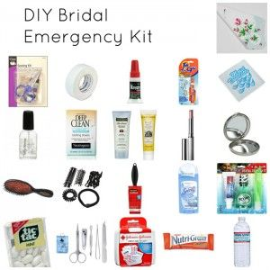 DIY Day of Wedding Emergency Kit