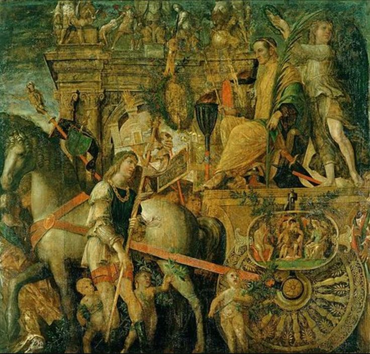 Les triomphes de César, Mantegna Mantegna 1486-1505 ap JC