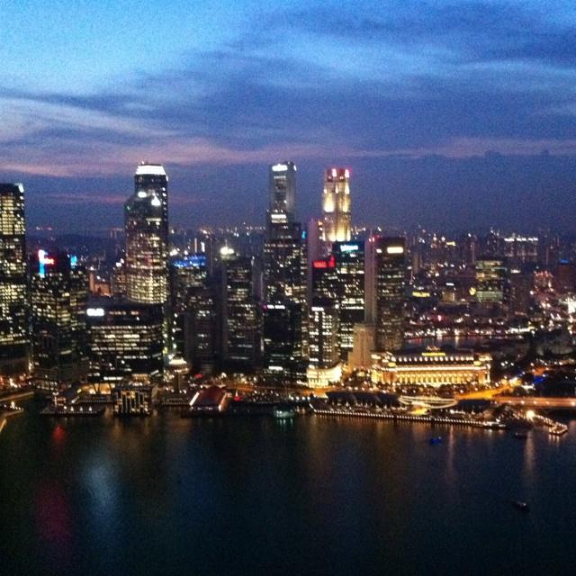 Sunset in Ku De Ta, Singapore