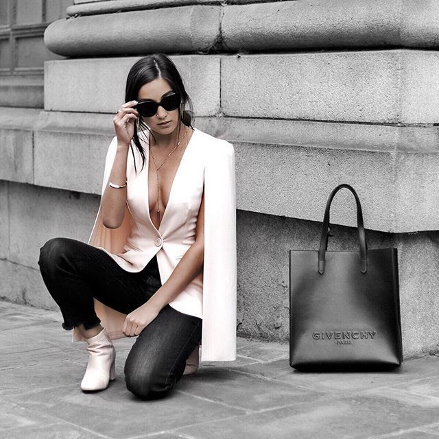 WEBSTA @ dayinmydreams - plunging necklines and luxe bags. get the look on @liketoknow.it http://liketk.it/2qySU #liketkit