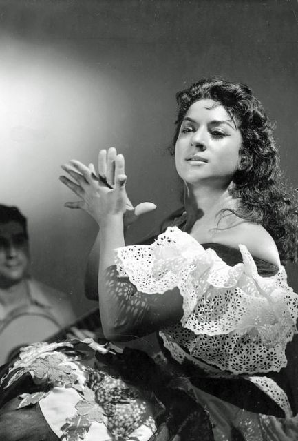 Lola Flores, Cantante n.en Jerez de la Frontera 1922+1995 España
