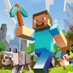 Check out the Minecraft review, evolutionary game play.