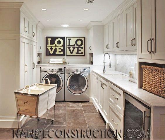 LOVE Laundry Room