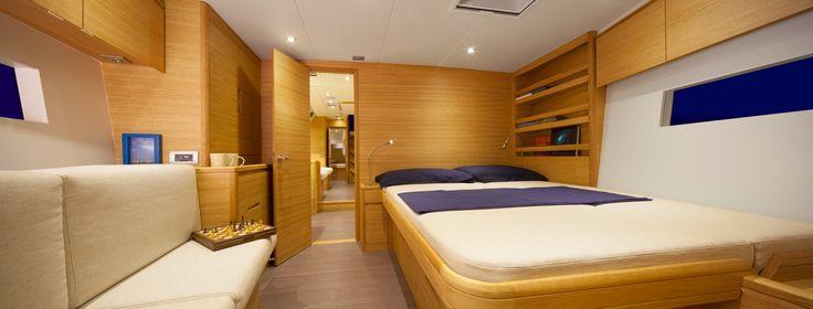 Solaris 58 - Owner Cabin