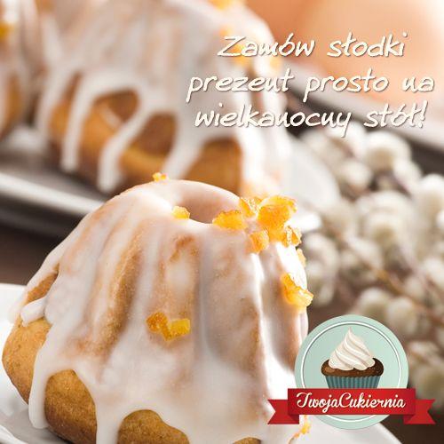 Obowiązkowy element każdego wielkanocnego stołu - mazurek! Zamów jeden z naszych świątecznych wypieków z odbiorem osobistym lub dowozem pod wskazany adres! >> www.twojacukiernia.pl