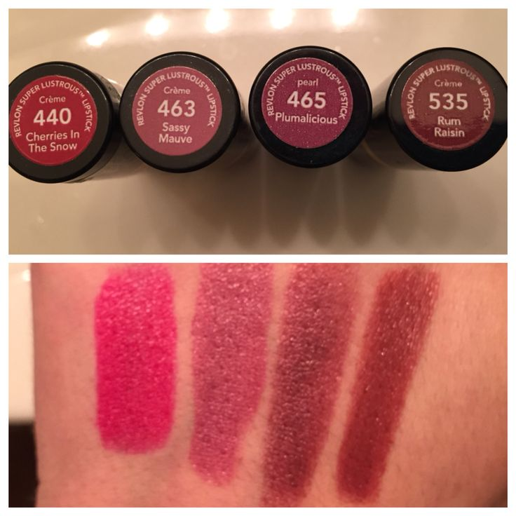 revlon lipstick swatches for fall 2015 440 cherries in the