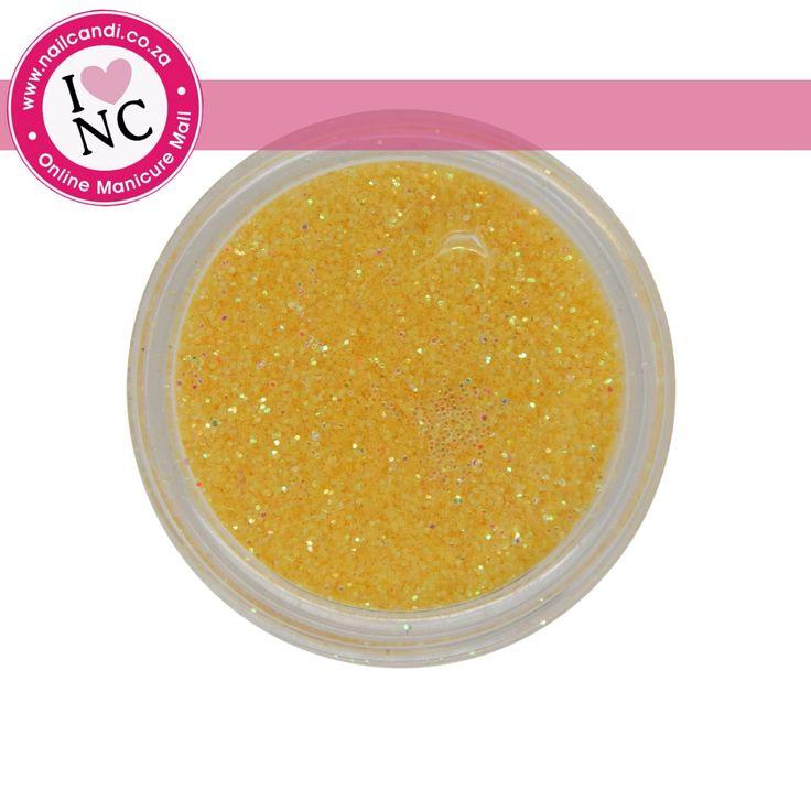 Nail art Glitter - Yellow
