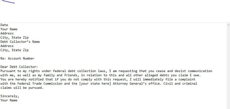 29+ Sample cease and desist letter to debt collectors inspirations