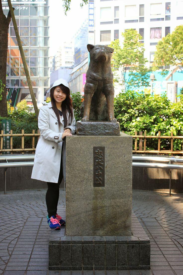 Born.To.Bite: Japan - Day 10 : Shibuya (Hachiko Statue), Doraemo...