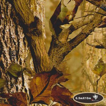 Excellent quality maple leaves camo hydrographics film water transfer printing film 50cm*10m aqua print HFD002