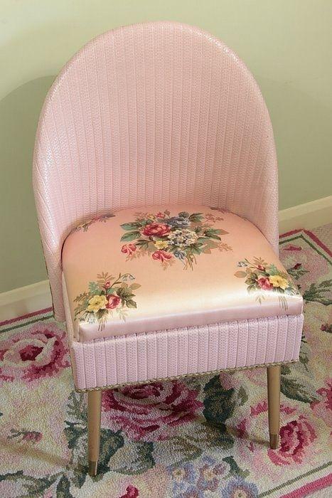 great vintage pink chair
