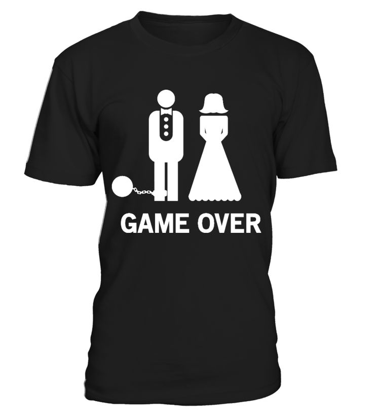 Wedding : Game Over Ball and Chain  #gift #idea #shirt #image #music #guitar #sing #art #mugs #new #tv #cool  #videogames