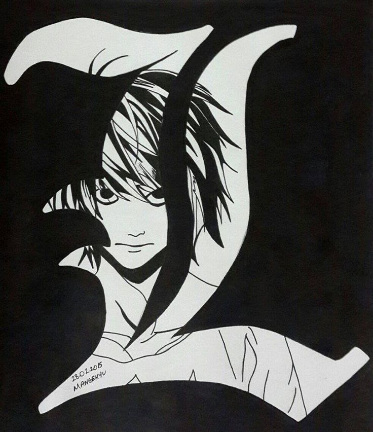 645 best Death Note images on Pinterest Death note, Drawing and - death note