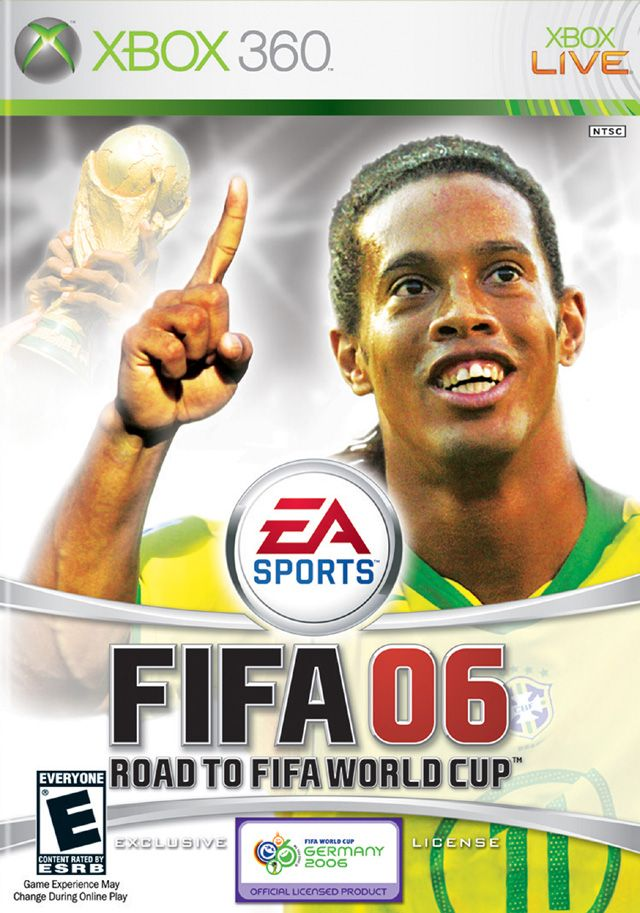 Fifa 2006 Road To World Cup Xbox 360 Game Fifa 2006 Fifa World Cup