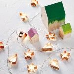 Whimsical Christmas Decorations – String Fairy Lights – Spotted Cookie Cutter LED Light Chain