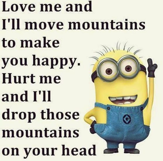 15  FUNNY MINION QUOTES