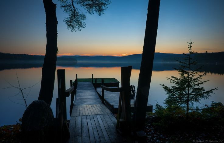 Seventh Lake, near Old Forge, in the foothills of the Adirondack Mountains of upstate NY.