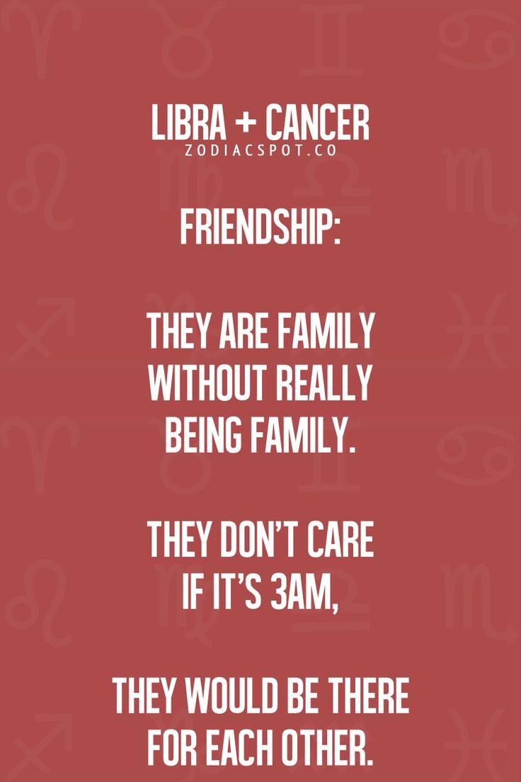 My closest friend Ruth is a Libra!  Libra & Cancer Zodiac Sign ♋ family