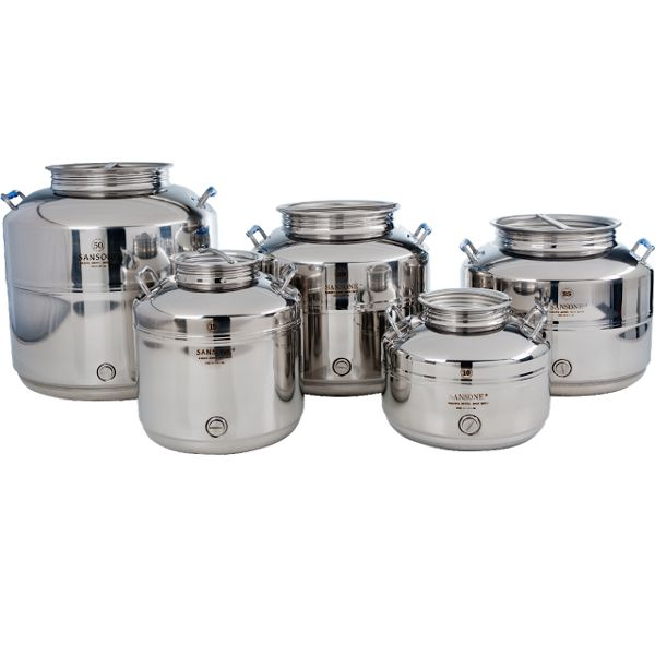 Fustis (pronounced as foo-stees) can be translated as drums in Italian. Fustis are classic stainless steel containers that have been around for centuries with its origins in Italy. Originally designed for use with olives oils, these popular containers have made their way to America and have been proven a hit with owners including chefs, business owners and even for private home use. Popularly used for dispensing water in America. Comes in various sizes to fulfill different needs and includes…