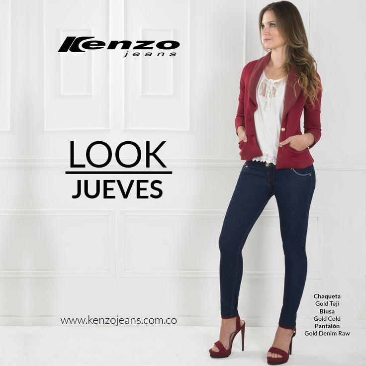 Prepara tu #look para celebrar la llegada del nuevo año, un #outfit lleno de color, feminidad y estilo. #KenzoJeans #AñoNuevo más en www.kenzojeans.com.co