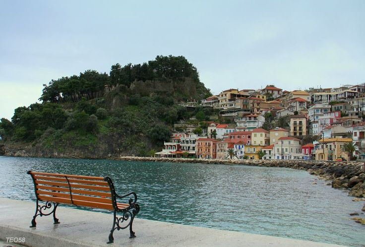 Parga, Thesprotia (by Theophilos Vossinakis)..