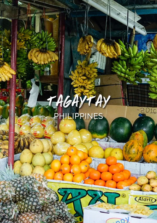 A break from hustle and bustle in Manila - visit Tagaytay