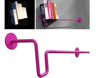Unusual and Modern Bookends Design