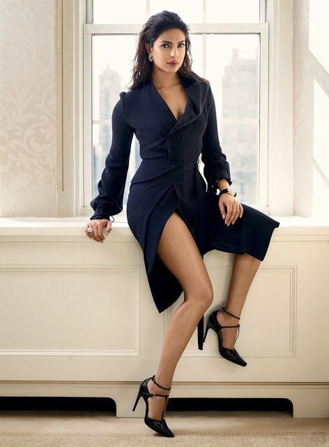 Some More Hot Pics Of Priyanka Chopra From Harper's Bazaar India Magazine…