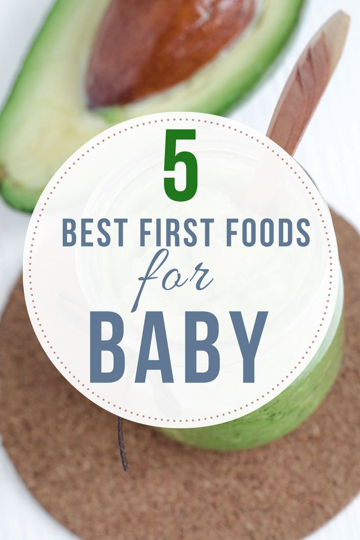 Have an infant who's getting ready to eat their first foods? Skip the rice cereal and aim for more nutritious choices - here are 5 of the best first foods for baby.