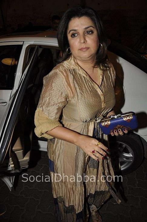Farah Khan at Sanjay Leela Bhansali's 50th Birthday Bash