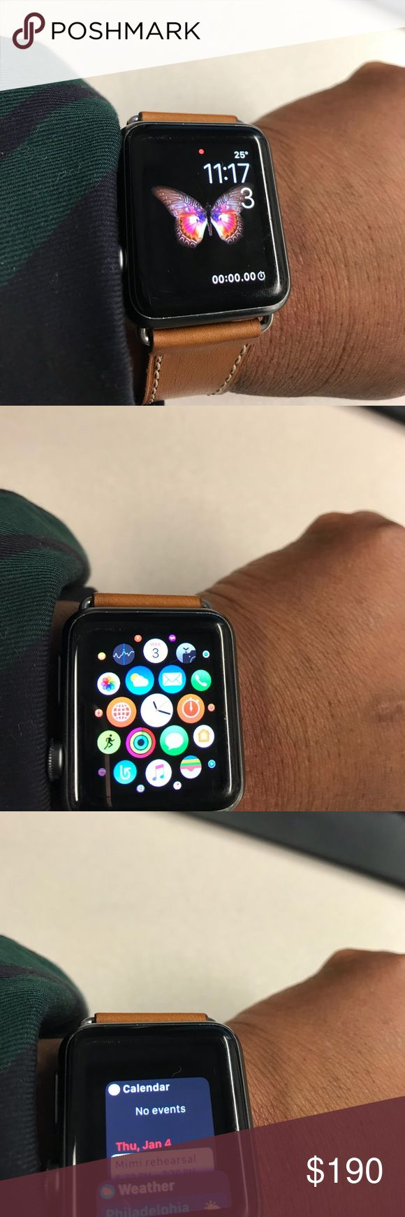 iPhone Watch series 1. iPhone watch series. 1.       In great condition    And will come with two bands iphone Accessories Watches