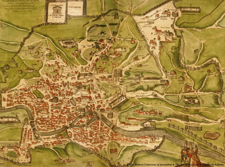 ancient maps | Ancient Rome Map