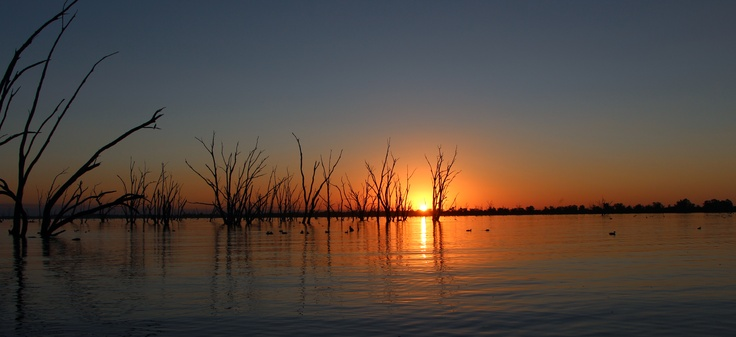 Sunset - Lake Mulwala