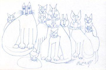 猪熊弦一郎展 猫達|企画展|MIMOCA 丸亀市猪熊弦一郎現代美術館