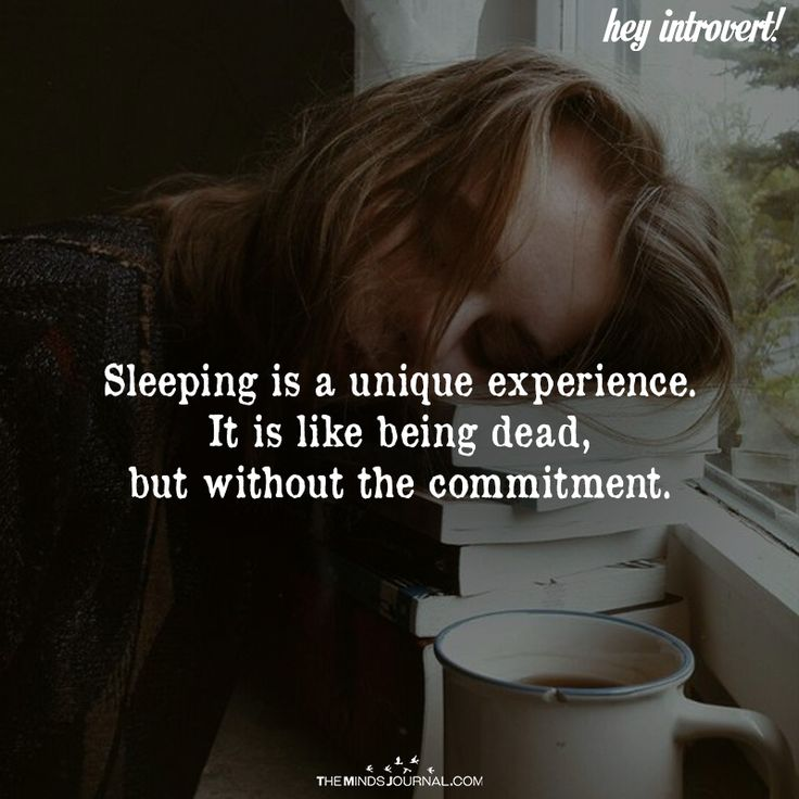 Sleeping Is A Unique Experience - https://themindsjournal.com/sleeping-unique-experience/