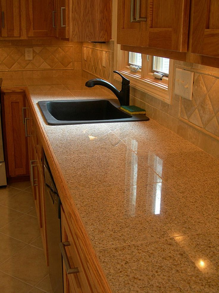 13 Best Tiled Worktops Images On Pinterest Backsplash