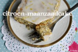 CAKE - Citroen-maanzaadcake - Fiekefatjerietjes