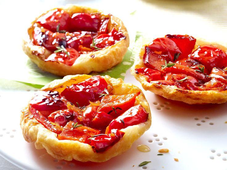 ... - Leckeres für gemütliche Vormittage - paprika-tarte-tatin Rezept